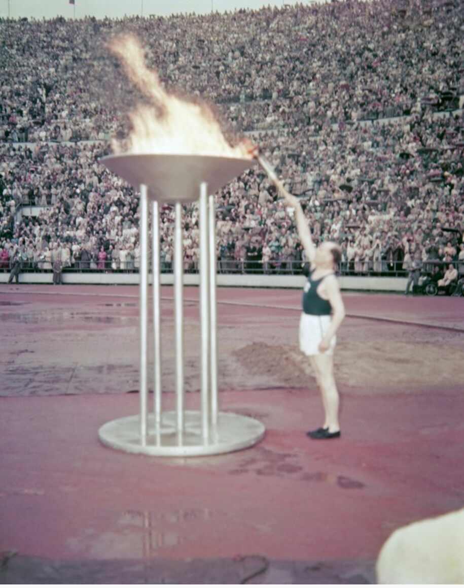 Helsinki toimi olympialaisten isäntänä vuonna 1952