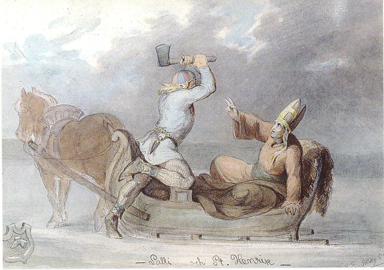Perustuuko kertomus Lallista ja piispa Henrikistä tositapahtumiin?