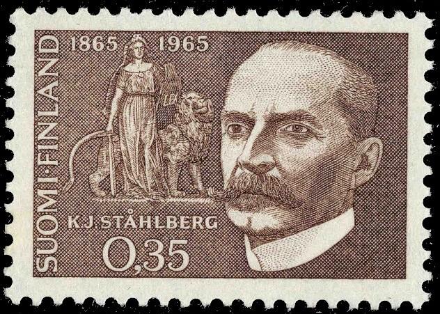 K. J. Ståhlberg pärjäsi lahjakkuutensa ansiosta